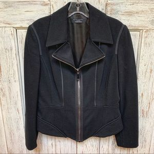 Fitted, sexy Elie Tahari, detailed black jacket